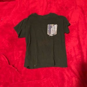 Used, Attack on Titan shirt for sale